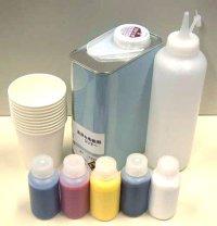 TOTAL-T御用達塗料セット【お試し塗料セット】(シンナー1L、シンナー用ボトル1本、紙コップ10個付)