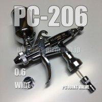 PC-JUMBO 206【丸吹き平吹き両用】 PCジョイントバルブ付 (イージーパッケージ)